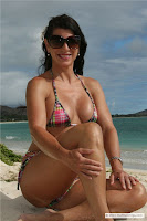 Laurie G in School Girl Beach Bikini (MS Collection) in Hawaii Beach