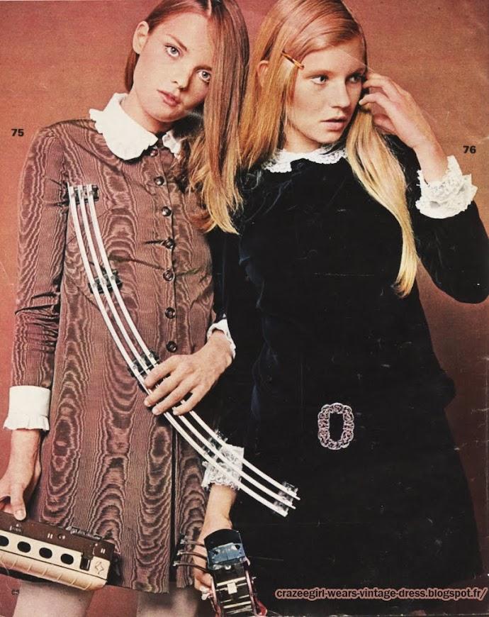 velvet dress - 1967 velvet dress 60s 1960