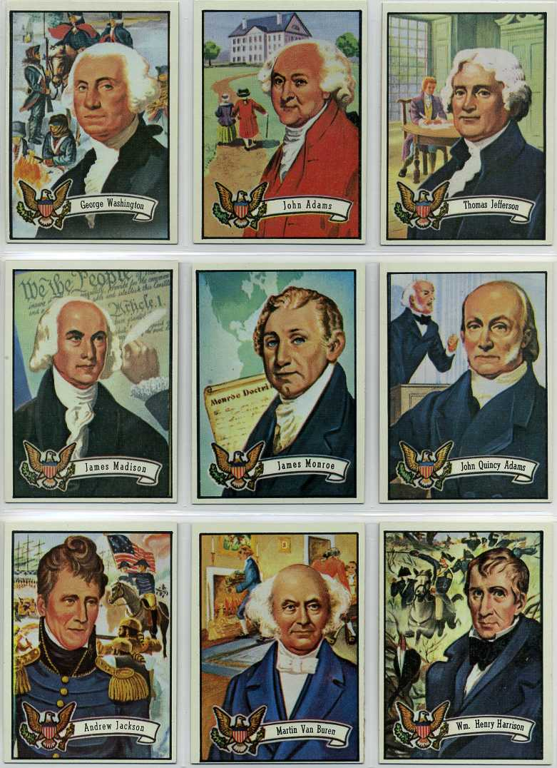 Dodgers Blue Heaven: Collection: 1972 Topps US Presidents Card Set