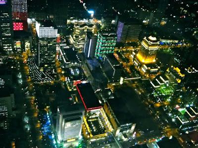 Taipei's Night View from Taipei 101