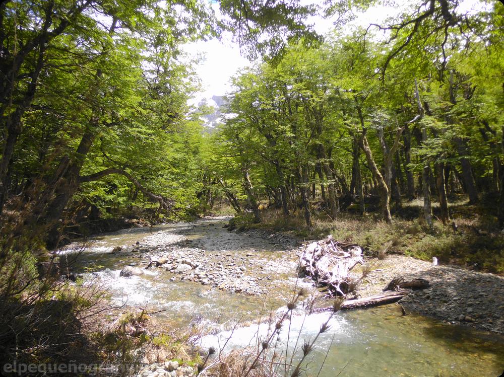 Río del Teno, Bolsón Refugios: Hielo Azul - Natación