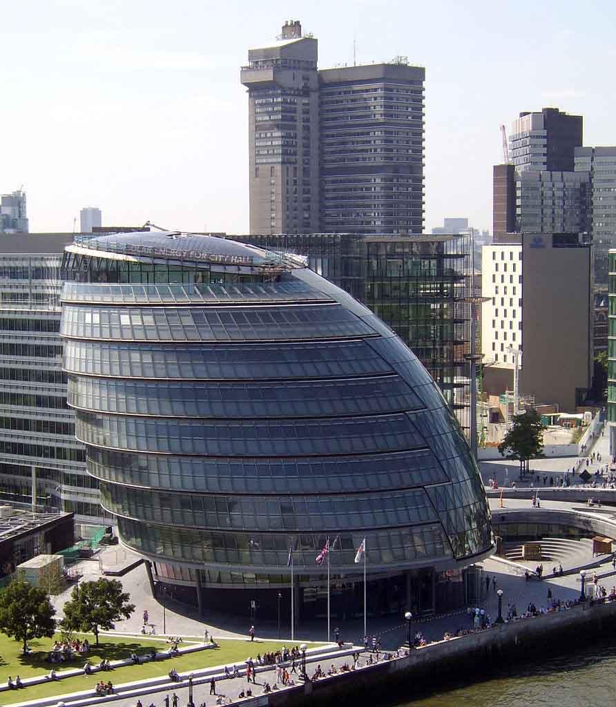 Fotos de londres inglaterra cidades em fotos for Architecture moderne londres