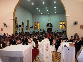 IMÁGENS DA  7ª NOITE DE NOVENA EM HONRA AO SAGRADO CORAÇÃO DE JESUS