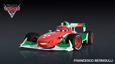 imagen galeria bernoulli - Los nuevos personaje de Cars 2