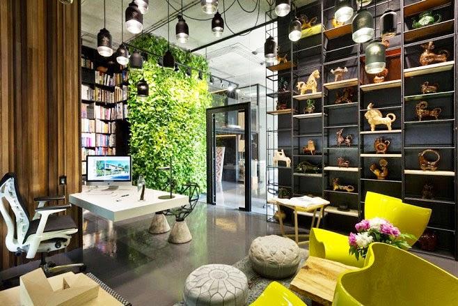Oficina y showroom taller arquitectura sergey makhno for Articulos de decoracion de interiores
