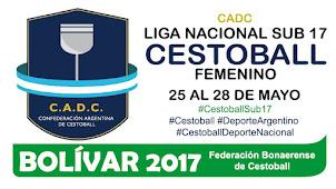 CADC Liga Nacional Sub 17 de Cestoball Femenino