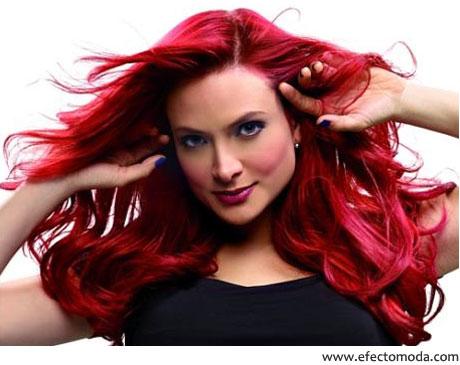 Tendencias de cabello 2011   Pelo rojo