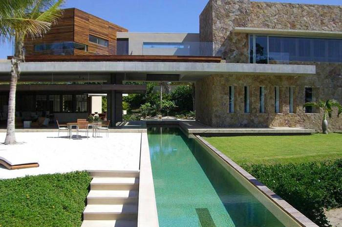 casas minimalistas y modernas piscinas minimalistas