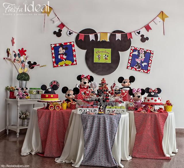 Fiesta ideal peru decoraci n fiesta cumplea os mickey y - Adornos fiesta cumpleanos ...