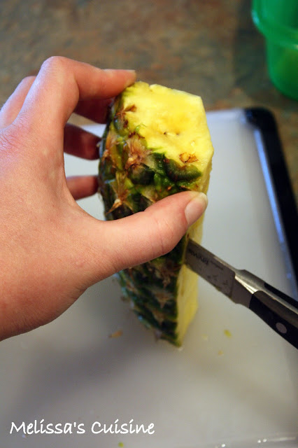 Melissa's Cuisine: Pineapple: Tips and Tricks