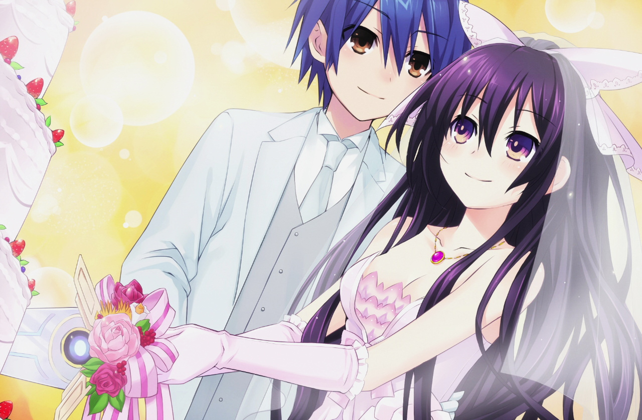 Date A Live Shido And Origami