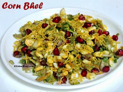 Corn Bhel Recipe Makai