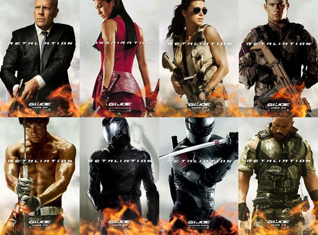 G.I. JOE LA VENGANZA 7 ABRIL CQB GEDAT TALAVERA Gi-joe-retaliation-character-posters