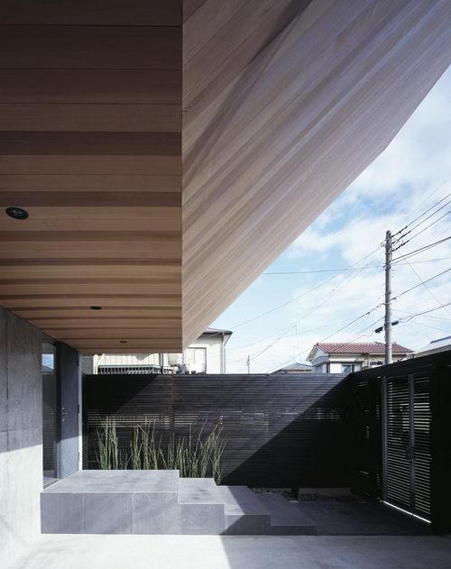 Flow the Unique Shaped House