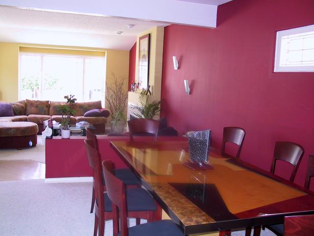 Fotos de comedores modernos ideas para decorar dise ar - De que color pintar el comedor ...