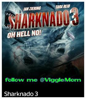 Sharknado 3, Viggle Live, Viggle Trivia, Viggle Mom, Sharknado 3 Oh Hell No!
