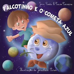 Livro infantil da Família Falcote!