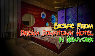 Screenshots of the Escape from Dream downtown hotel in New York for Android tablet, phone.