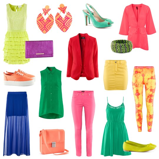 H&M Colour splash