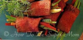 vegetable beef rolls