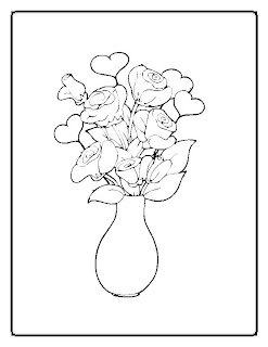 free coloring pages, flower coloring pages