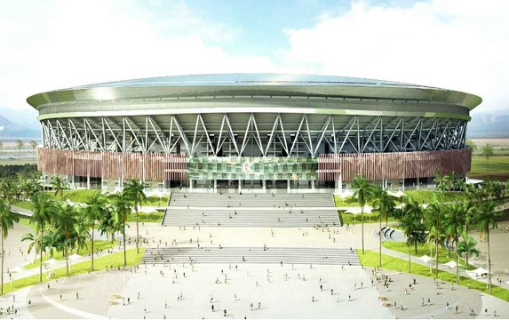 Philippine Arena the largest covered arena in the world