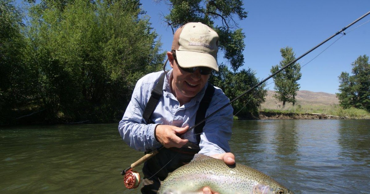 Fly fish oregon water time report oregon ranch water for Wilson river fishing report