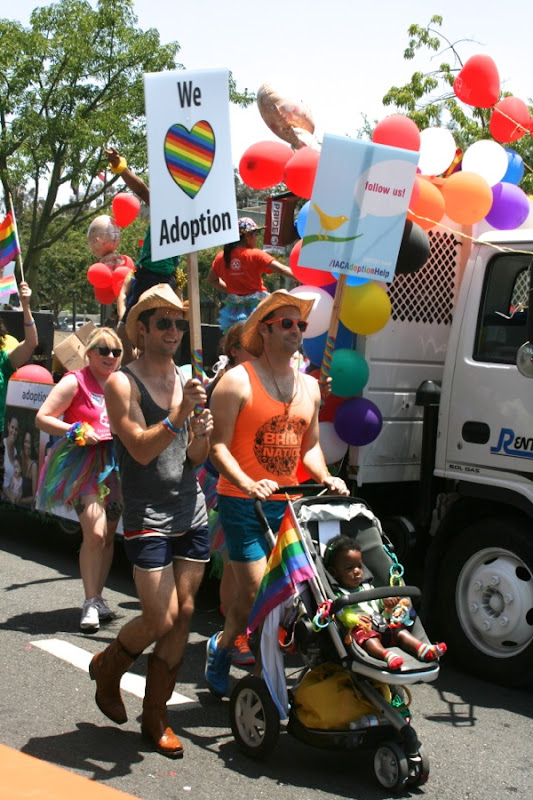 Gay Adoption LA Pride Parade 2013
