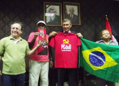 Brasileiros em missão de solidariedade na Palestina
