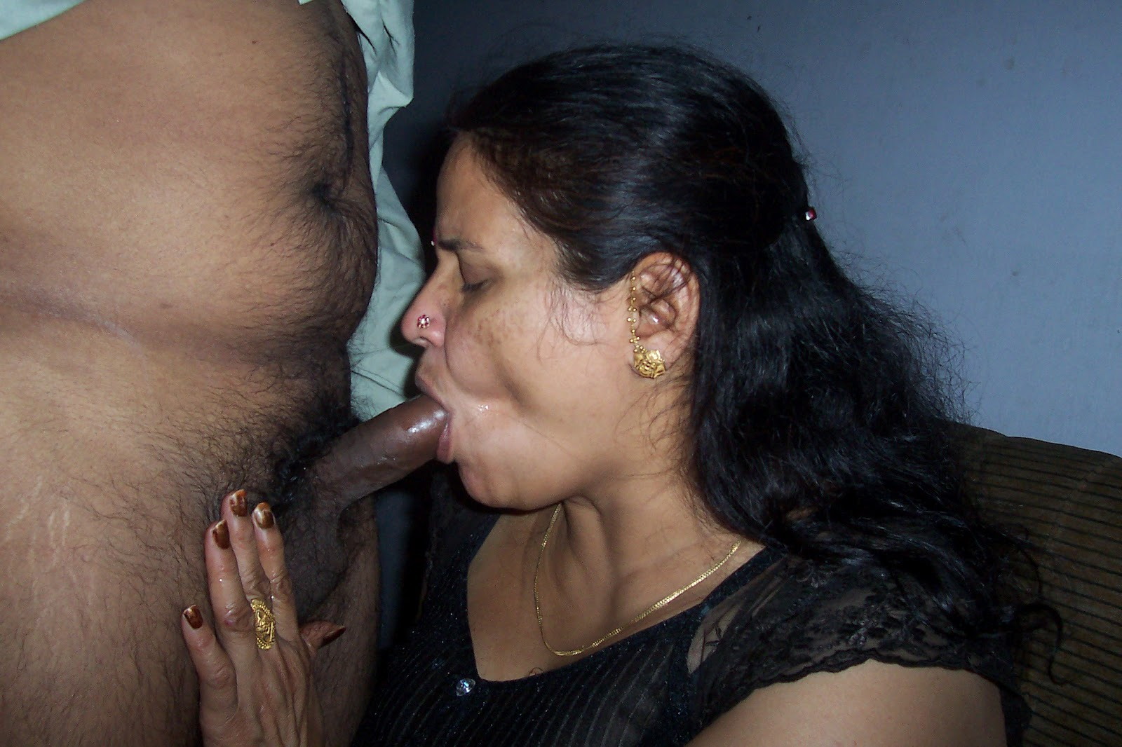 Indian Wife Sucking