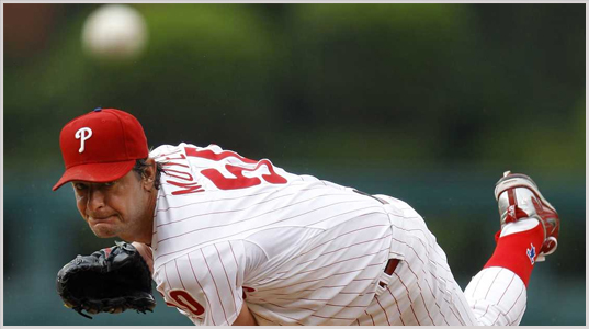 Jamie Moyer led the 2008 Phillies to a series tie with the 1929 A's