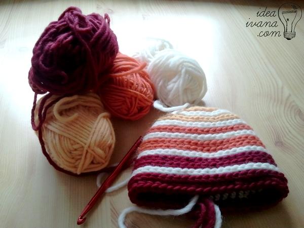 beehive beanie crochet pattern free