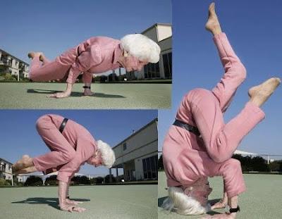 PHOTO Flexible Lola Acrobat Pinoy Jokes Funny Videos and Photos