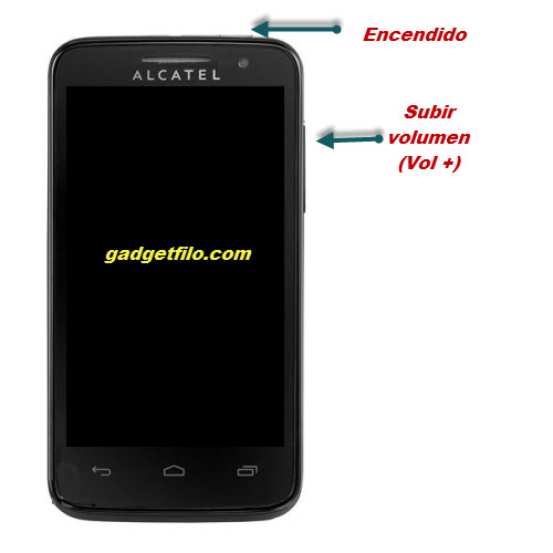 Hard reset alcatel one touch 5020