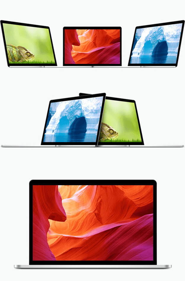 Free MacBook Pro PSD Templates