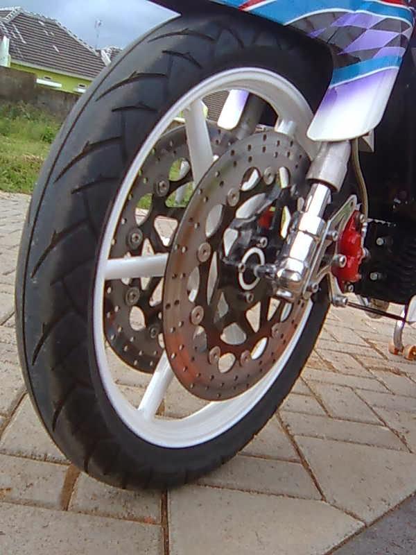 Modif Yamaha F1zr Underbone