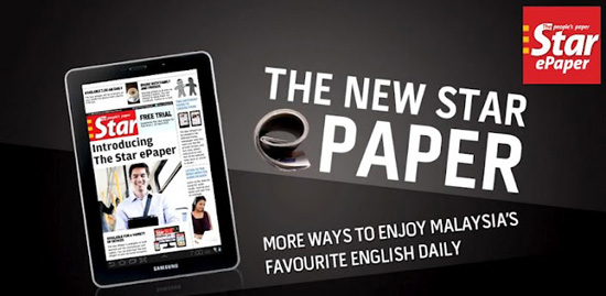 The Star ePaper - Read Anytime, Anywhere Enjoy 1 year of digital access to The Star ePaper and FOUR Regional ePapers – The Jakarta Post, The Nation and The Philippine Daily Inquirer and China Daily Asia Weekly at only RM (rrp: RM).