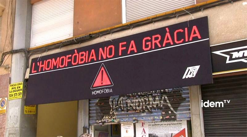 L'HOMOFÒBIA NO FA GRÀCIA