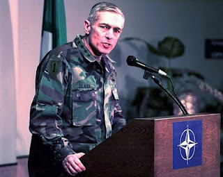 General Wesley Clark, a former US general who commanded Nato´s war in Kosovo