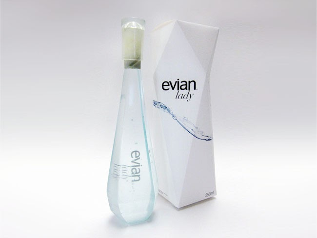 evian lady student work on packaging of the world creative package design gallery. Black Bedroom Furniture Sets. Home Design Ideas