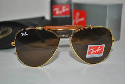 Ray Ban Malaysia Price | Ray Ban Outdoorsman Leather craft | Orginal Ray Ban