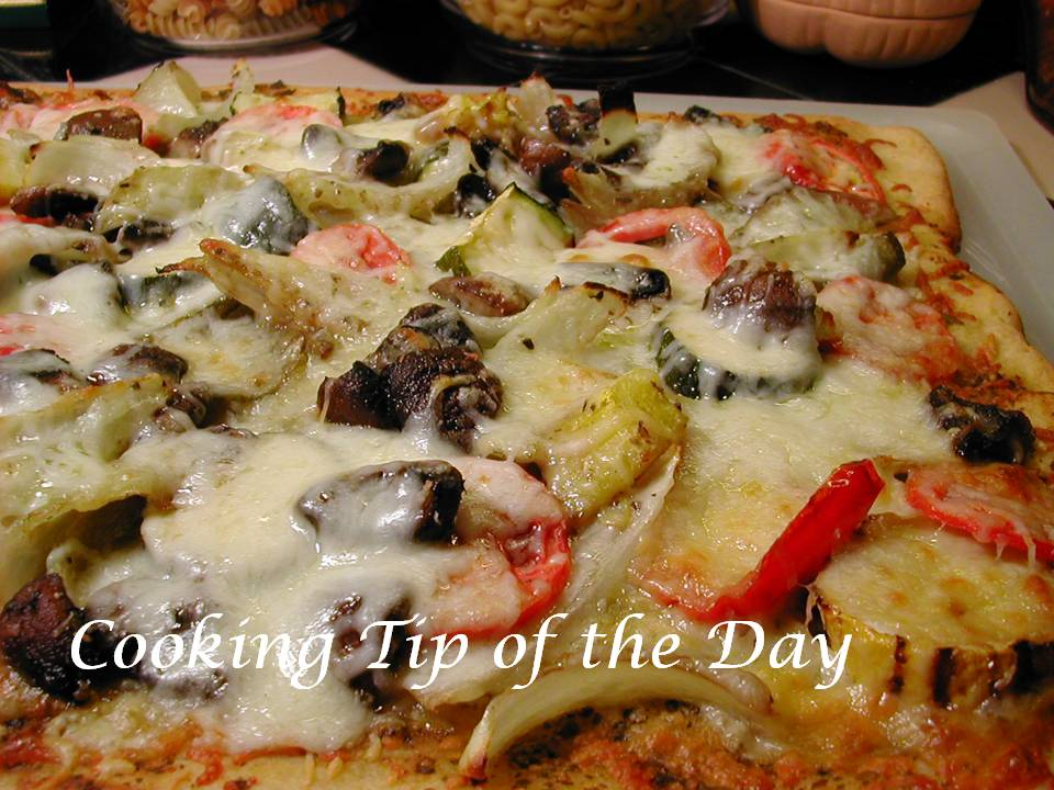 Grilled vegetables are a delicious topping for pizza and a terrific ...