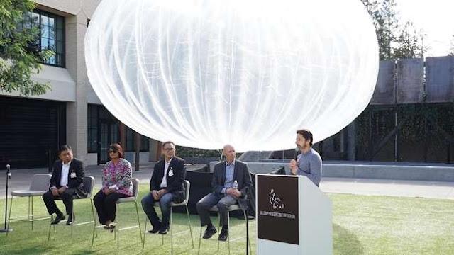Google akan hadirkan Loon Project
