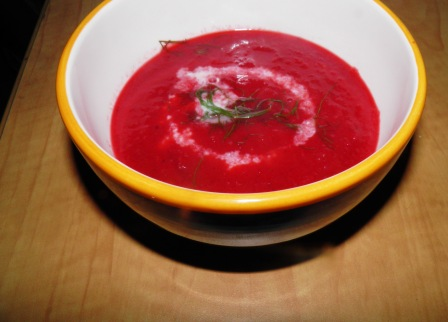 Angry Vegan: Roast beet and Fennel Soup