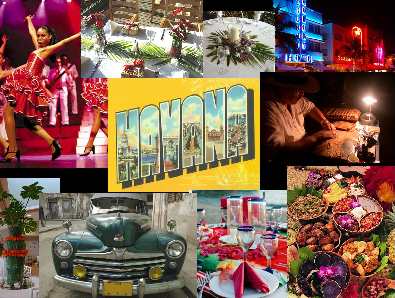 Havana Night's Theme Party