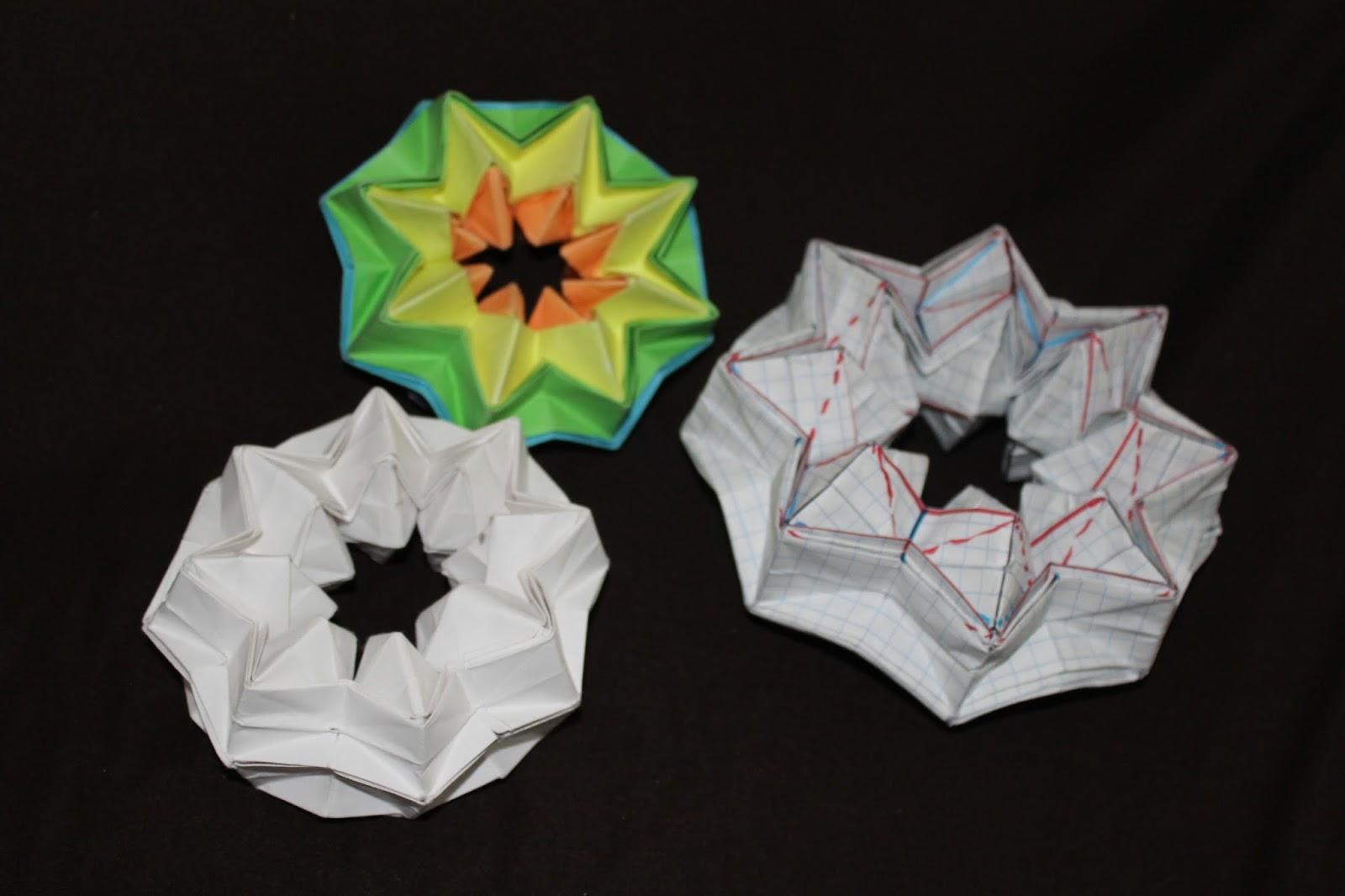 Si Te Gusta El Origami Y Andabas Buscando Tutorial Sobre Como Hacer La Estrella Magica Orilandcomparto Contigo Mi Metodo Cual Deduje De Unas