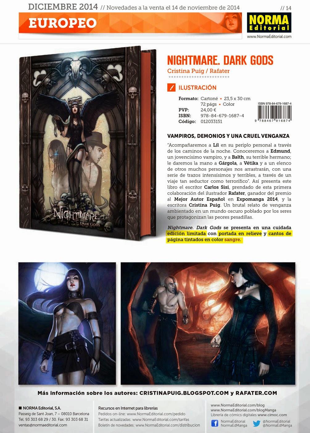 Nightmare dark gods by Rafater