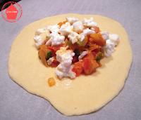buns petit pain courgette mozzarella moelleux