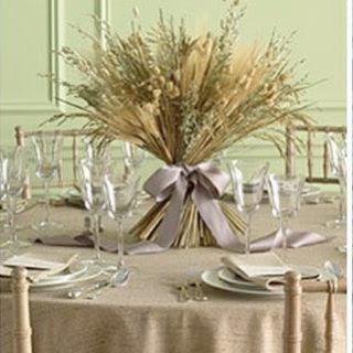 Beautiful Fall Country Wedding Decorations