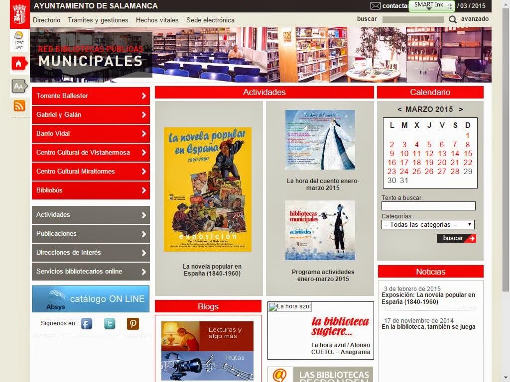 RED BIBLIOTECAS MUNICIPALES-AYTOSALAMANCA